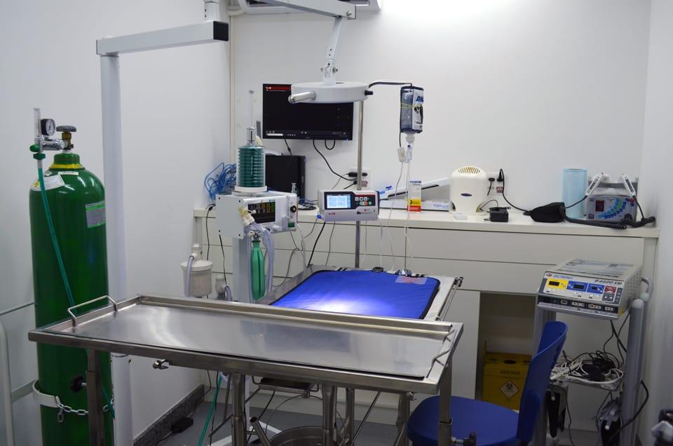 Bloco Cirúrgico da Unique Pet Center - Clínica Veterinária e Pet Shop no Buritis